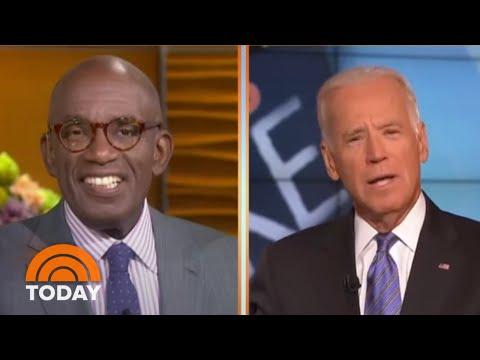 Al Roker Remembers Biden's Job Offer In Old Interview Footage | TODAY