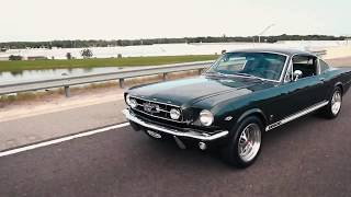 Production Car Review - Ivy Green Metallic 1965 Mustang GT 2+2 Fastback