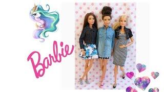 Barbie Yeni Kıyafet Paketleri   Unboxing   Kendi Yaptığım   Pijama   Diy Doll Stuff