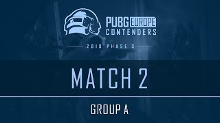 Match 2 • Group А • PEL Contenders • Phase 3