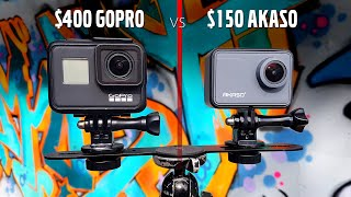 Akaso 4K V50 Pro vs GoPro 4K | You be the judge