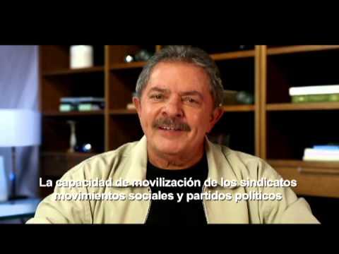 El expte. de Brasil Luiz Inácio Lula da Silva se suma a la movilización del 9 de abril