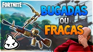 FORTNITE STEAMPUNK Weapons! BUGADAS or WEAK? Analysis of ALL weapons (llama Pirata)