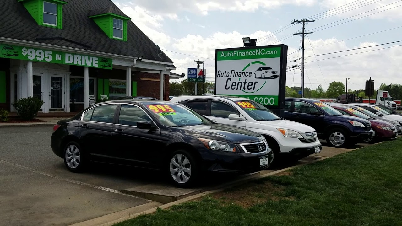 Auto Finance Center >> Auto Finance Center 995 N Drive Buy Here Pay Here Youtube