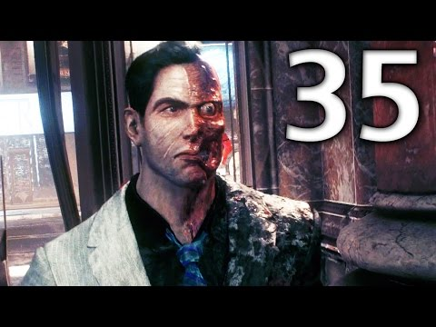 Batman: Arkham Knight Official Walkthrough 35 - Two-Face