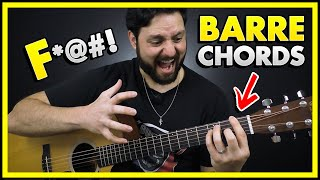F Bar Chord Tİps - Guitar Bar Chords Lesson (Explained!)
