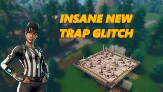 NEW INSANE TRAP GLITCH! MUST WATCH (Fortnite Battle Royale)