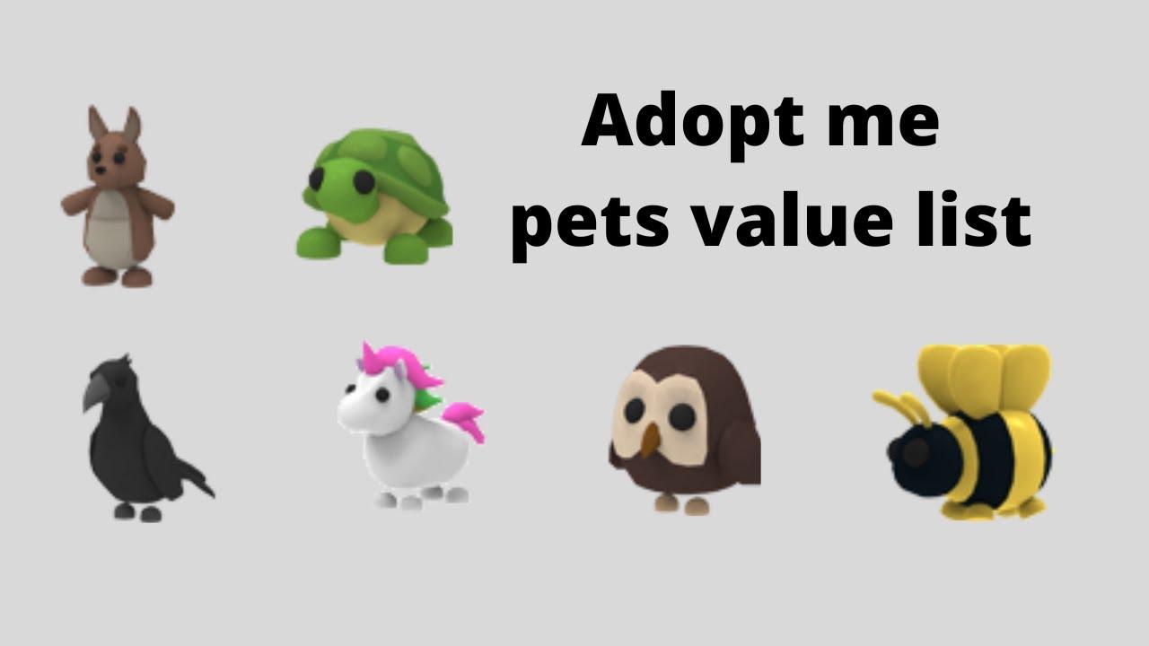 Updated Legendary Pet List Value List 5 21 2020 Youtube