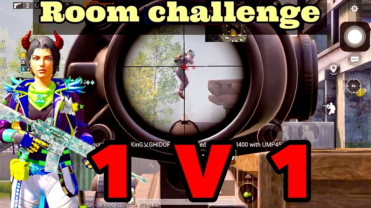 Room challenge with conqueror player | m24 queen