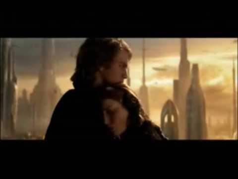 Star Wars: Anakin and Padme - Everytime We Touch