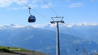 😎  Cry d'Er 2265 m. alt. to Crans Montana 1495 m. alt.