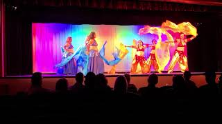 """Troupe Anam Cara at the Moonshine Autumn Gala fusion belly dance to  """"Harmony"""" by Clozee"""