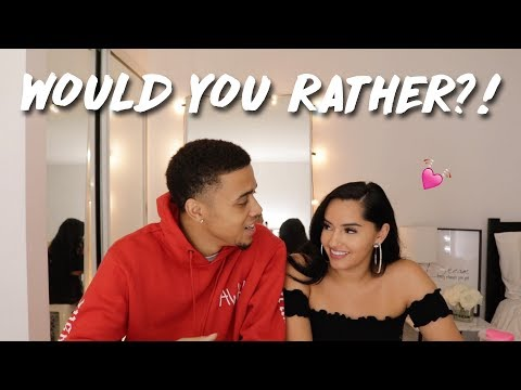 Thumbnail: WOULD YOU RATHER (RELATIONSHIP EDITION!) ❤️ | KBURTON & THEEREALKARLAJ