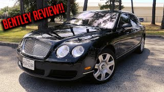 This Is Why The 2006 Bentley Flying Spur Is The Most Luxurious Car For $40,000!