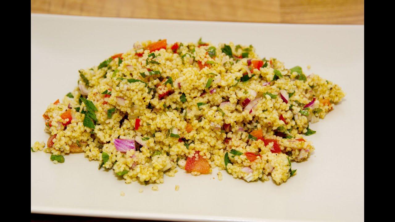 Couscous salat tabouleh