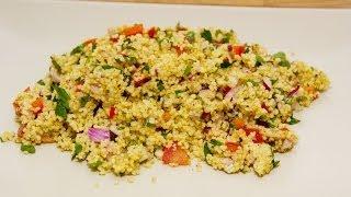 Schneller Couscous Salat - Taboulé
