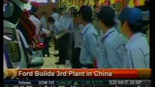 Ford Build 3rd Plant In China