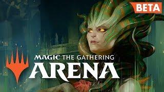 MTG ARENA // Magic: The Gathering NEW Online // Live Stream Beta Gameplay