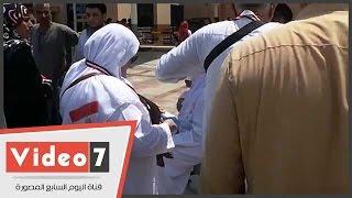 بالفيديو.. علم مصر يرافق الحجاج للأراضى المقدسة..ويؤكدون: معانا فى كل مكان