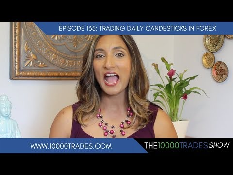 Episode 135: Trading Daily Candlesticks in Forex