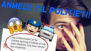 CAROLINE ANMELDER OS TIL POLITIET!! **IKKE CLICKBAIT**