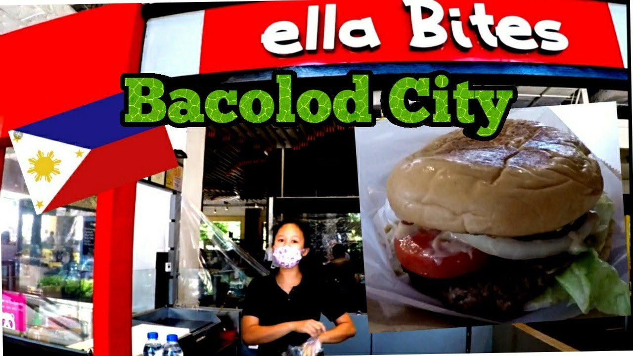 ELLA BITES / A great burger in BACOLOD CITY