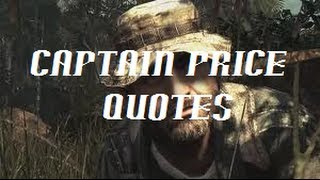 Duty Captain Price Quotes