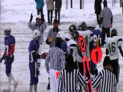 Hudson Bay Ridersvs Rosthern Longhorns 2011 Provincial 2A 6 Man Final
