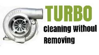 How To Clean A Turbo On A Diesel Without Removing Using Wynn's Turbo Cleaner Spray