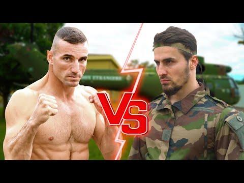 IBRA TV VS MAJOR GERALD ( légion étrangère )