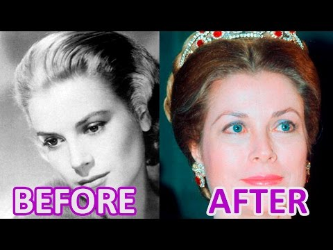 Woman and Time: GRACE KELLY, #princess of #Monaco: before, thereat, after, now