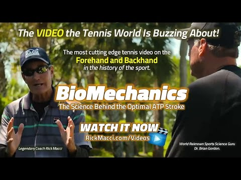 Tennis BioMechanics With Macci and Gordon (Preview)