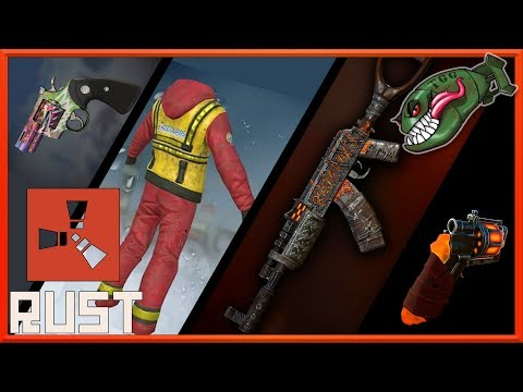 Rust Top Skins   OIl Rig Themes, Sawed -off Specials, St. Patty's Day Chest #35 (Rust Skin Picks) thumbnail