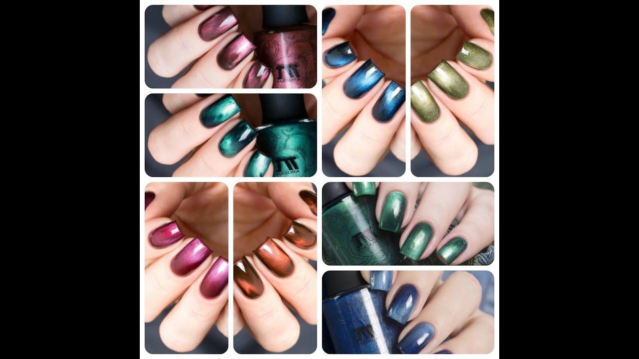 MASURA Magnetic Nail Polish (English Version) - YouTube