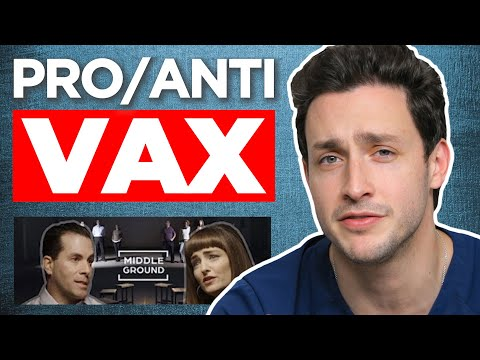 Doctor Reacts to Middle Ground: Pro-Vaccine vs Anti-Vaccine