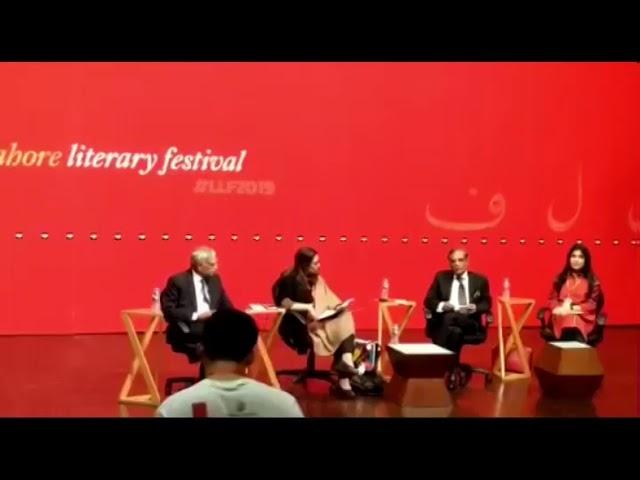Ex-CJP Saqib Nisar talks at LLF2019