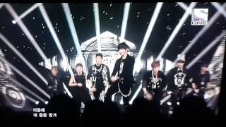 BTOB wow inkigayo countdown