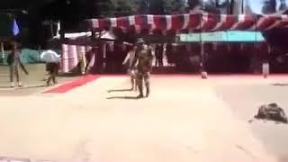 """""""Kya karte the  sajna tum hamse door rah ke---"""" geet par Sainikon dwara 'pyar bhara' pyara dance"""