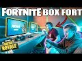 ULTIMATE FORTNITE GAMING BOX FORT 📦🎮 Fortnite, Gameplay & More!