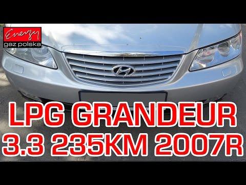 Montaż LPG Hyundai Grandeur z 3.3 235KM 2007r w Energy Gaz Polska na gaz BRC