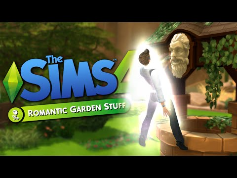 WISHING WELL RESURRECTION - Sims 4 Romantic Garden Stuff - The Sims 4 Funny Highlights #65
