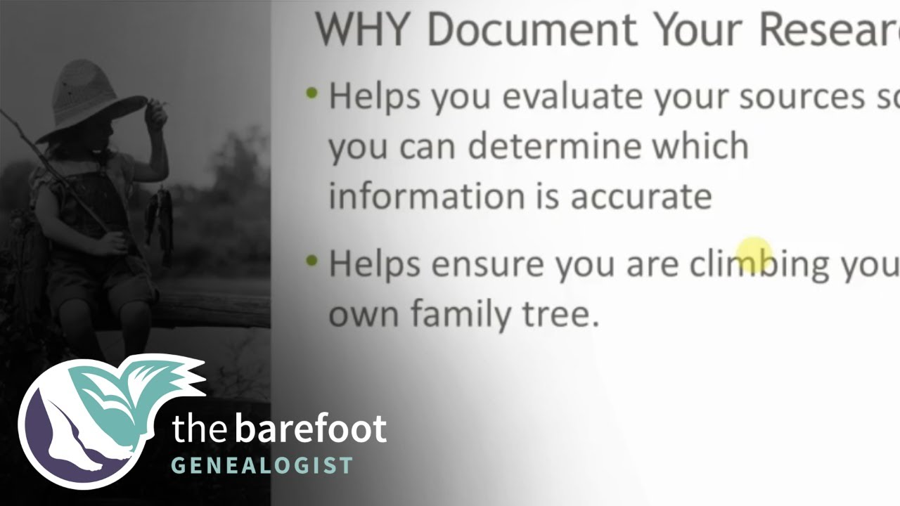 Document Your Research:  What Does That Mean? | Ancestry
