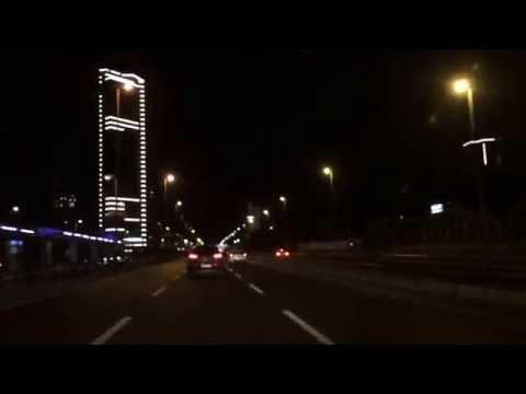 Driving through Istanbul