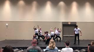 Trinity - 2nd Place - Human Video Ensemble Large - National Fine Arts Festival, Orlando 2019