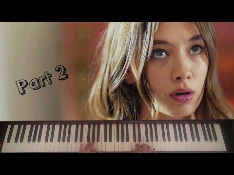 Piano Tutorial - Kara Sevda Kokun Hala...