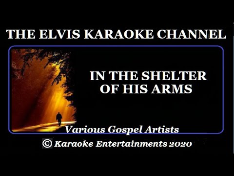 Jimmy Swaggart Karaoke Gospel In The Shelter Of His Arms