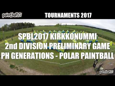 PH Generations vs Polar Paintball - SPBL2017 Kirkkonummi