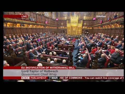 House of Lords shouting