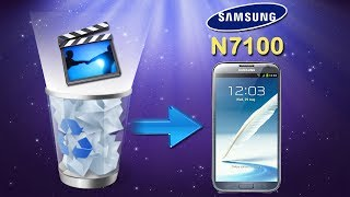 Galaxy Note Data Recovery: How to Recover Lost Videos from Samsung Galaxy Note 2 (GT N7100)?