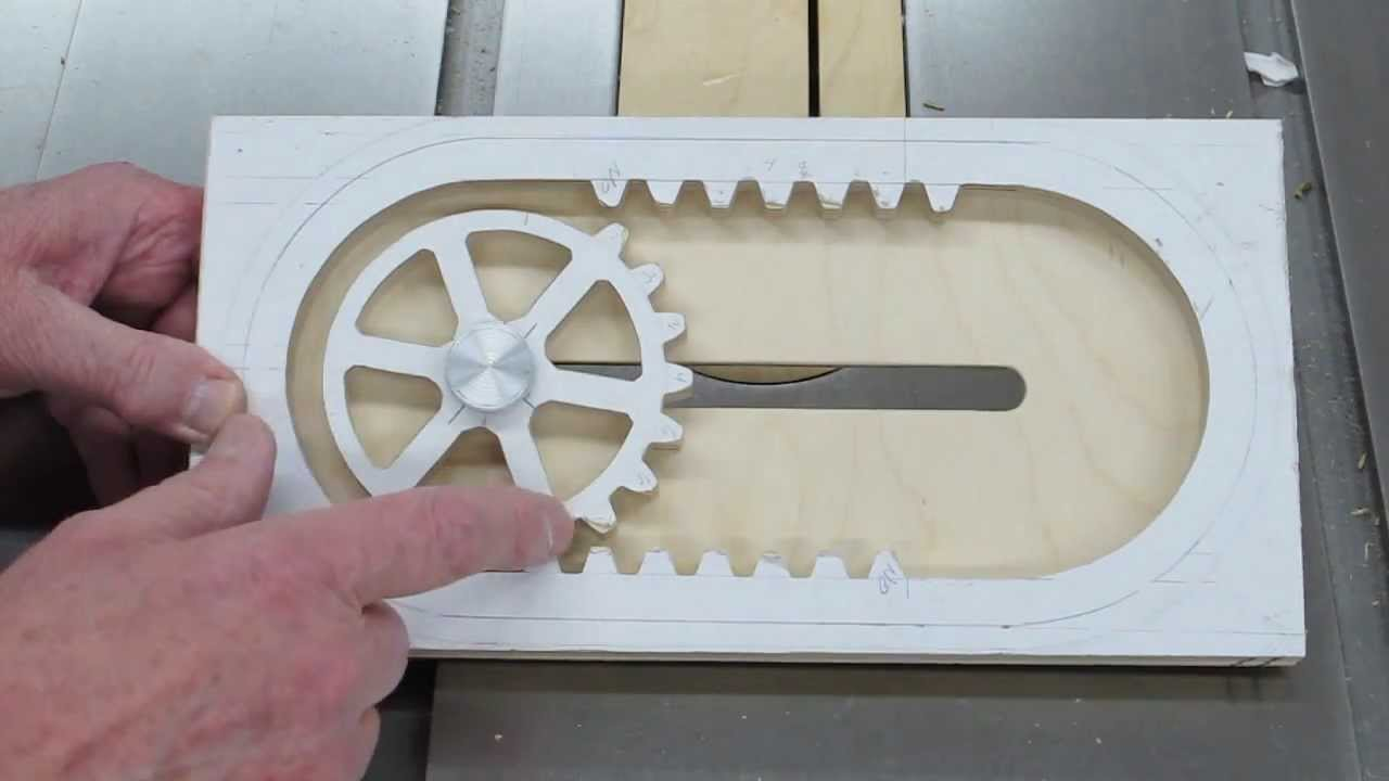 Making The Reciprocating Rack Amp Pinion Youtube